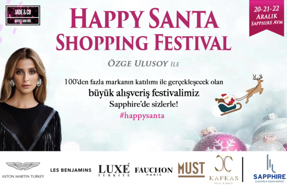 20-21-22 Aralık | Happy Santa Shopping Festival